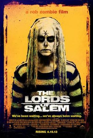 The Lords of Salem (film) - Theatrical release poster