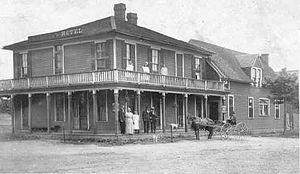 Lake View, New York - Lake View Hotel in 1908
