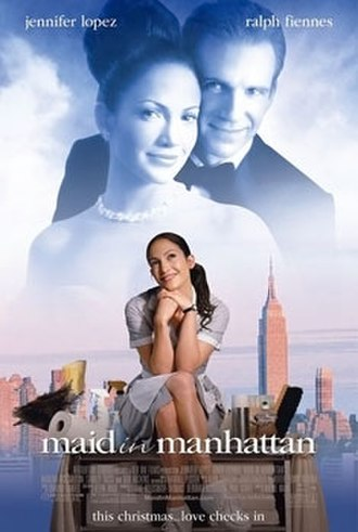 Maid in Manhattan - Theatrical release poster