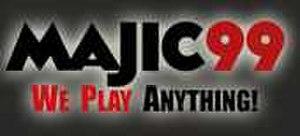 WMAJ-FM - Image: Majic 99