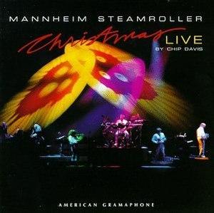 Christmas Live - Image: Mannheim Steamroller Christmas Live album cover