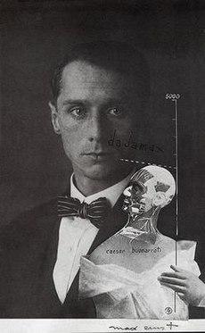 Max Ernst, 1920, esfera de perfuração ou Imortalidade Buonarroti, fotomontagem, gouache e tinta no photographie.jpg