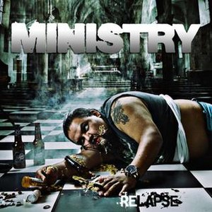 Relapse (Ministry album) - Image: Ministry Relapse