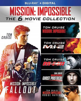 Mission: Impossible (film series) - Blu-ray box set of the five films