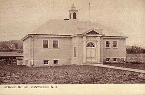 Montville, New Jersey - Montville School House, 1910