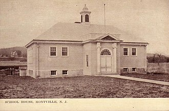 Montville, New Jersey - Montville School House, 1910