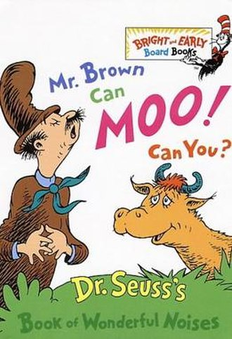 Mr. Brown Can Moo! Can You? - Hardcover cover