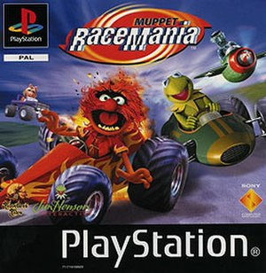 Muppet RaceMania - European cover art