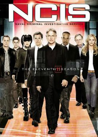 NCIS (season 11) - Season 11 U.S. DVD cover