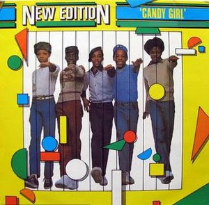 Candy Girl (New Edition song) - Image: NE candygirl single