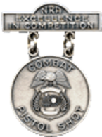 National Rifle Association's (NRA) Law Enforcement Excellence-in-Competition (EIC) Badge
