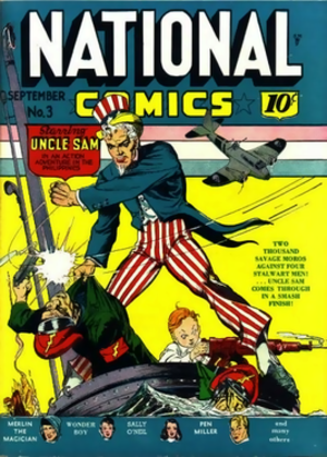 Uncle Sam (comics) - Image: Nationalcomics 3