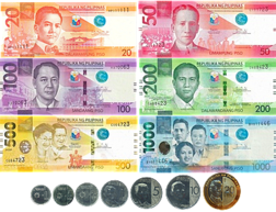 New Generation Currency Series banknotes.
