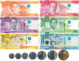 Philippine peso Currency of the Philippines