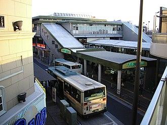 Ōizumi-gakuen Station - North entrance, February 2007