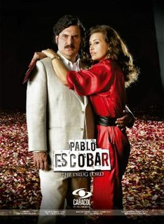 <i>Pablo Escobar, The Drug Lord</i> 2012 Colombian television series