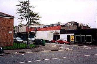 Shettleston - The Palaceum Bar, Shettleston in 2004.