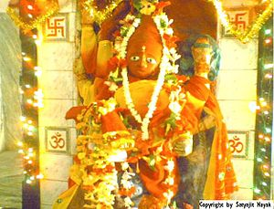 Balangir district - Goddess Pataneswari, The tutelary goddess of Balangir District.