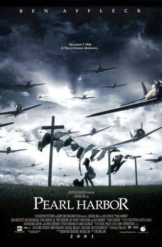 Pearl Harbor (film) - Theatrical release poster