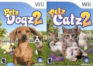 <i>Petz: Dogz 2 and Catz 2</i> 2007 video games