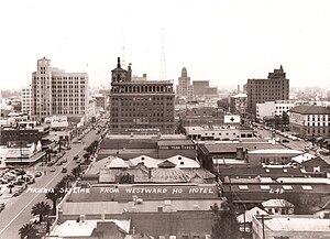 Downtown Phoenix - Downtown Phoenix Skyline from Westward Ho Hotel