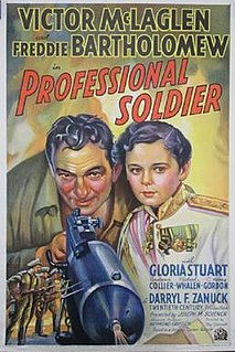 <i>Professional Soldier</i> 1935 film by Tay Garnett
