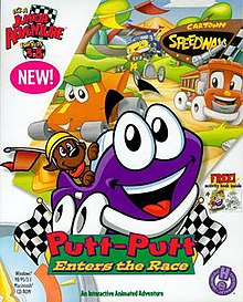 Putt-Putt Enters the Race - The Cutting Room Floor