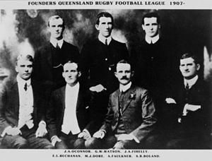 Queensland Rugby League - Image: Queensland Rugby League Founders 1907