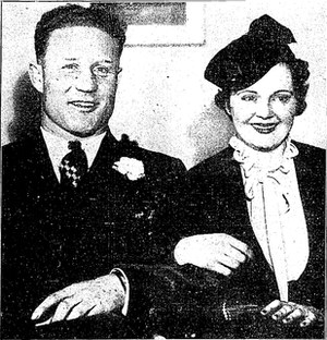 Red Stacy - Red Stacy and Alberta Hunter on their wedding day, January 1936