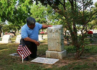 Pedro Cano - Cano's grave site