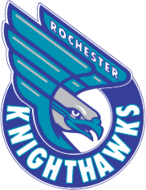 Rochester Knighthawks - Image: Rochester Nighthawks