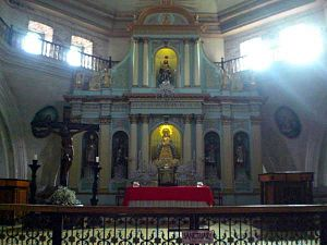 San Guillermo Parish Church - The Altar of San Guillermo Parish Church