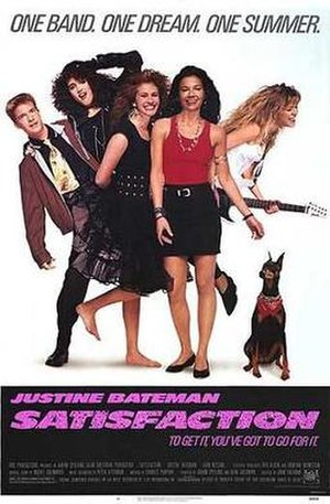 Satisfaction (film) - Theatrical release poster