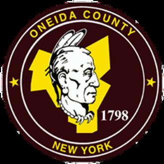 Oneida County, New York - Image: Seal of Oneida County, New York