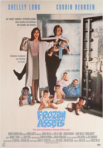 Frozen Assets (film) - Canadian home video poster