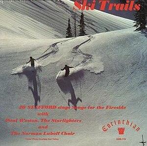 Ski Trails - Image: Ski Trails (Jo Stafford album cover art)