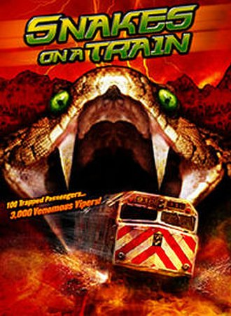 Snakes on a Train - DVD release cover