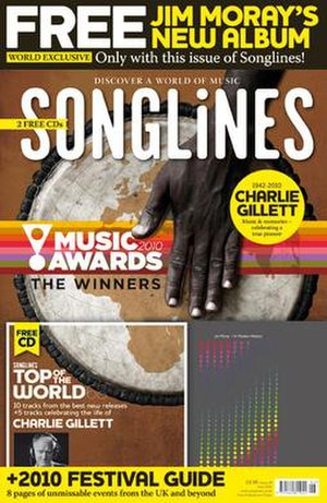 Songlines (magazine) - Songlines Music Awards 2010 issue