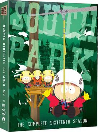 South Park (season 16) - DVD cover