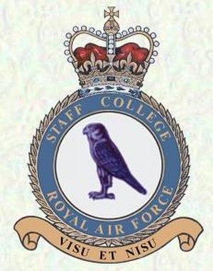 RAF Staff College, Bracknell - College crest