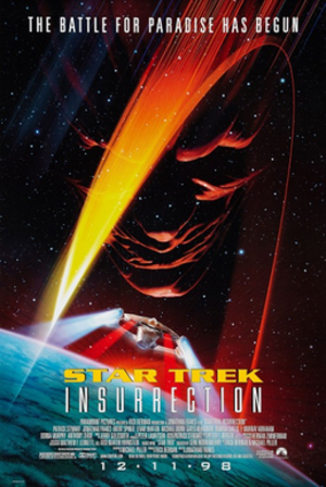 Star Trek: Insurrection - Theatrical release poster