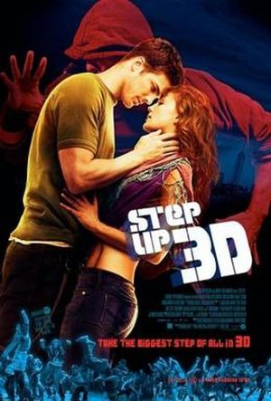 Step Up 3D - Theatrical release poster
