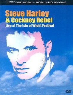 <i>Live at the Isle of Wight Festival</i> (Steve Harley &amp; Cockney Rebel video) 2005 video by Steve Harley & Cockney Rebel