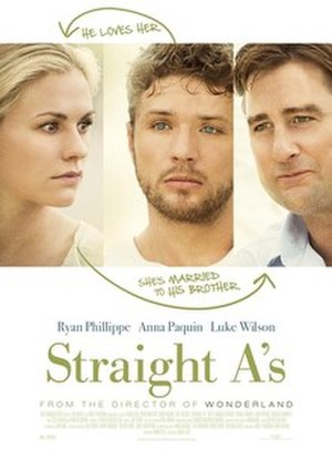 Straight A's - Theatrical release poster
