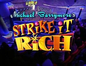 Strike It Lucky - Image: Strike it Rich UK TV Titlecard