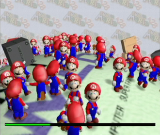 Super Mario 128 - Super Mario 128 as shown at the SpaceWorld event in August 2000.