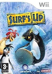 Surf's Up. European Wii version cover art