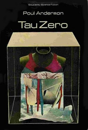 Tau Zero - Cover of first edition (hardcover)