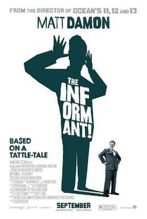 The Informant! - Theatrical release poster by Neil Kellerhouse