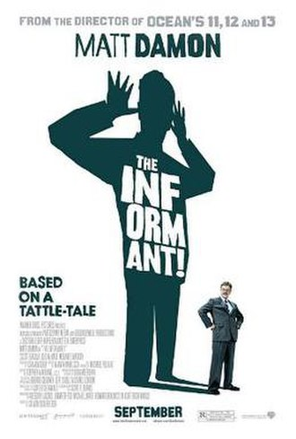 The Informant! - Theatrical release poster